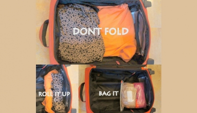 Don't Fold - Roll it Up - Bag It
